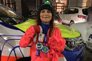 Exhausted Deirdre says 115 mile run was 'horrendous'