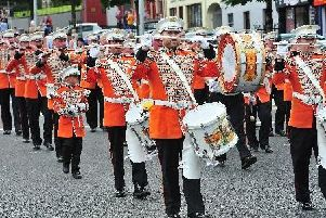 Members of Cookstown Sons of William Flute Band are holding their parade tonight.