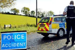 Pedestrian dies after collision with lorry
