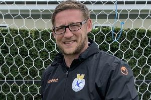 Dungannon Swifts boss Kris Lindsay.