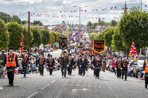 The Last Saturday parade in Cookstown last year