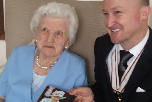 'Wee May' celebrates her 100th birthday with family and friends
