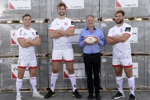 Local firm Tobermore 'gets behind' Ulster Rugby