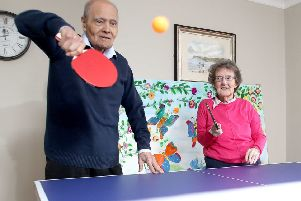 NI care home launches 'ping pong' championships