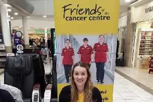 Amy from the Friends of the Cancer Centre