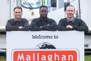 Tyrone firm rewarding service