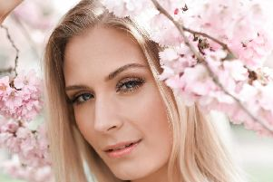 SPRING BLOOM: Beauty shoot photographed in beautiful Northamptonshire countryside
