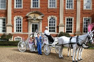 Cinderella stars at Chicheley Hall