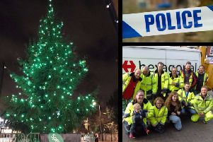 Teenage thugs slammed for stealing baubles from Newport Pagnell communal Christmas tree