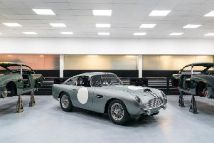 Aston Martin in Newport Pagnell is finally building cars once again