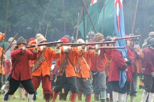 Civil War re-enactment leaves lasting legacy for Newport Pagnell