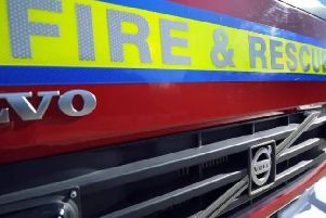 Four motorbikes and two cars damaged in garage blaze at property in Milton Keynes