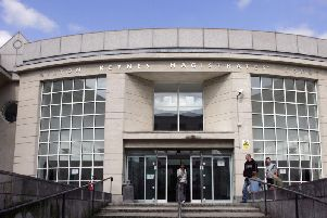 The hearing took place at Milton Keynes Magistrates' Court