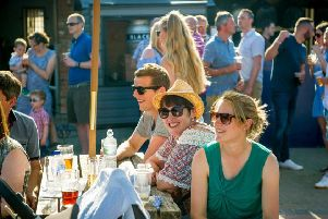 A previous event at Blackpit Brewery in Stowe