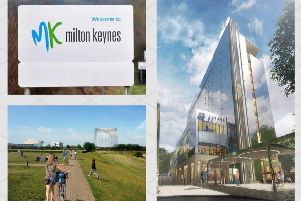 An artists impression of how Hotel La Tour will look in Milton Keynes