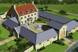 This 9-bed country pile in Gayhurst Newport Pagnell, Milton Keynes, is on the market for a cool 3.5 million pounds