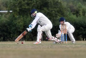 Eaton Bray batting against Olney