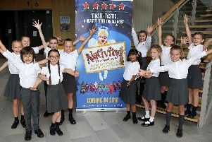 The youngsters who will appear in Nativity!