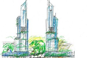 Founding architect of Milton Keynes wants twin towers built in city centre