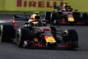 Max Verstappen led home Daniel Ricciardo for third and fourth at the Japanese Grand Prix