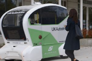 The driverless cars in MK
