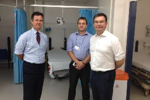 MK MPs Mark Lancaster (left) and Iain Stewart (right) are pleased with the additional support