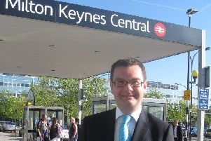 Iain Stewart at MK Central