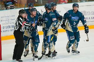 Lightning won for the first time in seven games | Pic: Jez Tibbetts