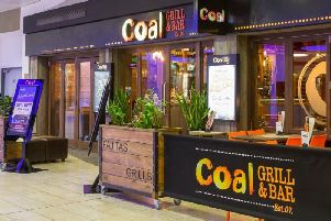 The popular Coal & Grill Bar at XScape in MK
