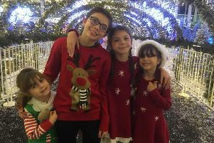 Ollie, 12, Katie, 11, Lily, 8, and Lacey, 5, wrote and recorded their own rap-style song called Knickers on my Head After success on YouTube, the sibling quartet decided to release Christmas single Jingle Girls.
