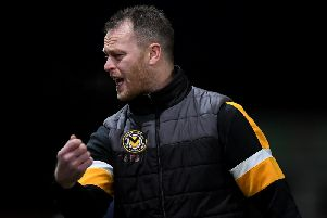 Newport boss Michael Flynn