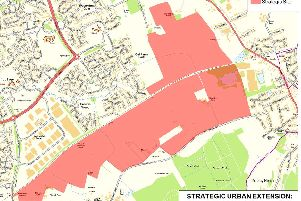 Strategic urban extension plans for MK