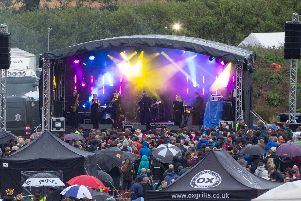 Crowds brave the rain to enjoy last year's Swanbourne Music Festival