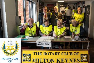 The Rotary Swimathan for Milton Keynes