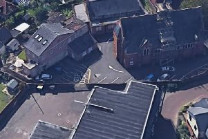 Aerial image of the URC site in Newport Pagnell