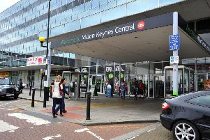 The new multi-storey car park will be next to Milton Keynes Central Train Station