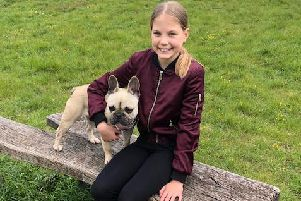 Madison Sissons is all smiles after being reunited with Roxy