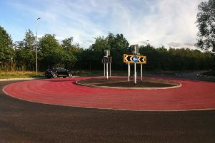 The 'circus tent' roundabout