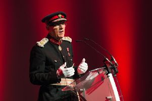 The Lord Lieutenant of Buckinghamshire Sir Henry Aubrey-Fletcher, who was awarded a Royal Victorian Order in the Queen's Birthday Honours list