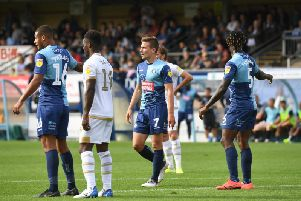 David Wheeler fired in the winner for Wycombe