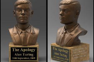 The Apology - Alan Turing statue