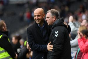 Mark Robins and Paul Tisdale
