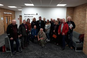 Salden Chase opponents at the council offices