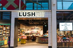 The new Lush store in Centre:MK