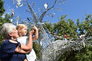 The Tree of Life at Willen Hospice
