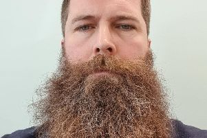Rob's beard is out of control