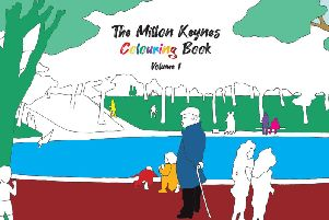 The Milton Keynes Colouring Book Vol 1