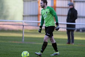 Goalkeeper Marty Gallagher made a few big saves to earn Institute a point against Newry City.