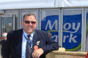 David Mark, pictured at the Balmoral Show in 2015, and his wife claimed �9,236 in a 16-month period