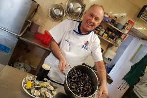 Hal Dawson has received the Worshipful Master Fishmonger award.
